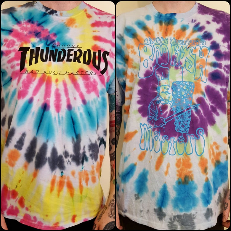 Image of Tie Dye T shirt