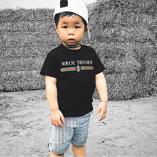 Image of KIDS INSPIRED TEE | BLACK
