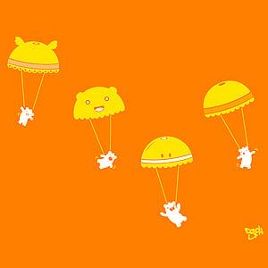 Flying to Molestown Orange