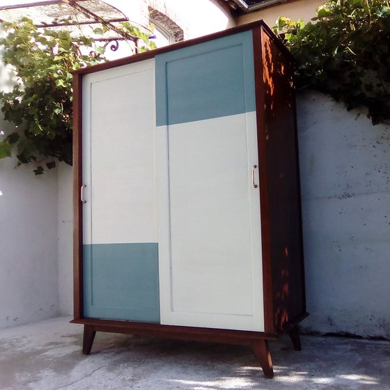 Image of Armoire portes coulissantes origami