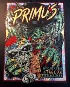 Image of PRIMUS gigposter - Pittsburgh PA - GOBLIN foil variant