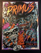 Image of PRIMUS gigposter - Pittsburgh PA - GOBLIN foil COL variant