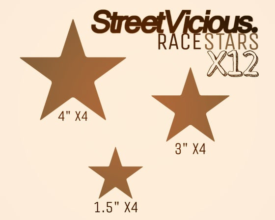 Image of Street Vicious Stars (Pack of 12)