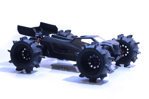 Image of Phat Bodies - K2 Truggy Bodyshell for LC racing EMB-1 LWB