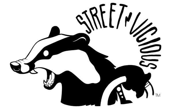 "Image of Street Vicious Badger - 6.5"" Single Colour"