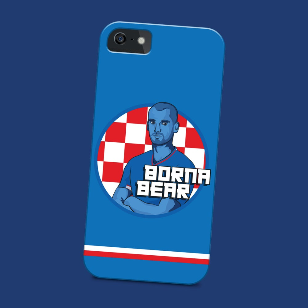 Image of Borna Bear phone case