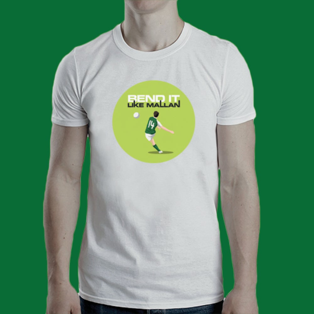 Image of Bend It Like Mallan t-shirt