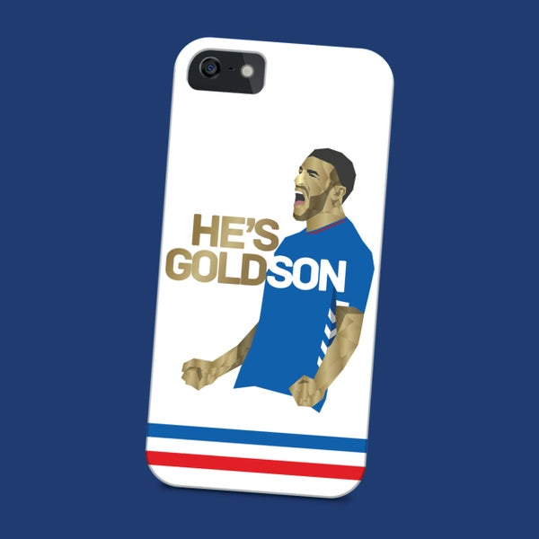 Image of He's Goldson phone case