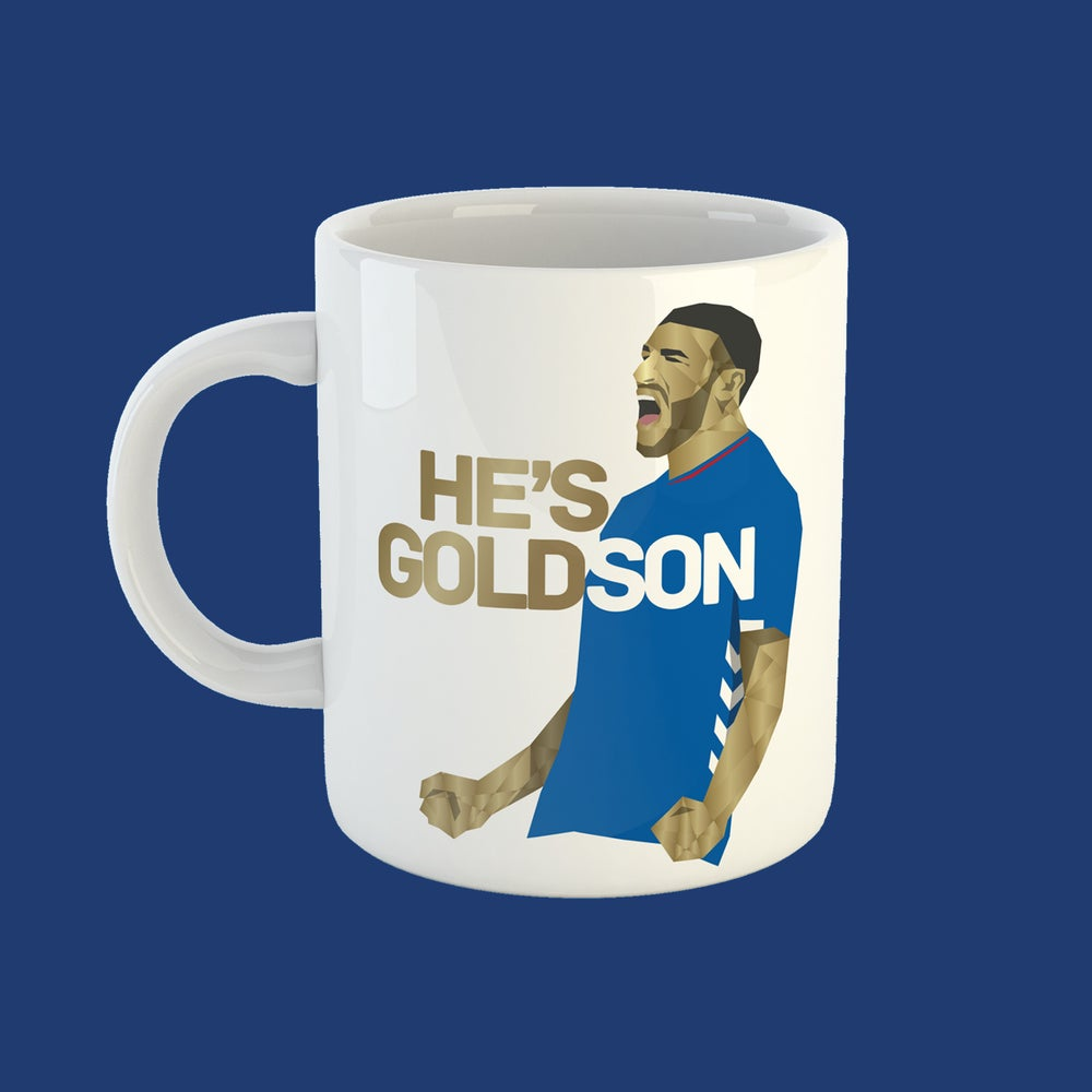 Image of He's Goldson mug