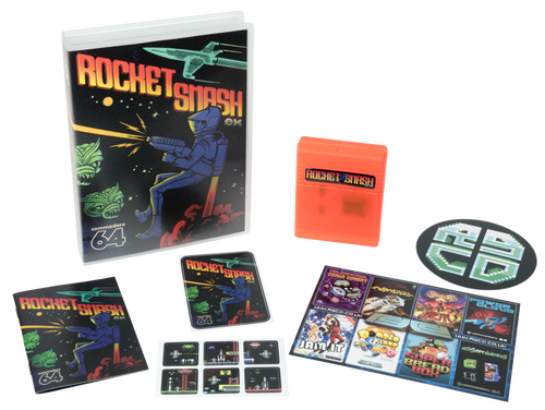 Image of Rocket Smash EX (Commodore 64)