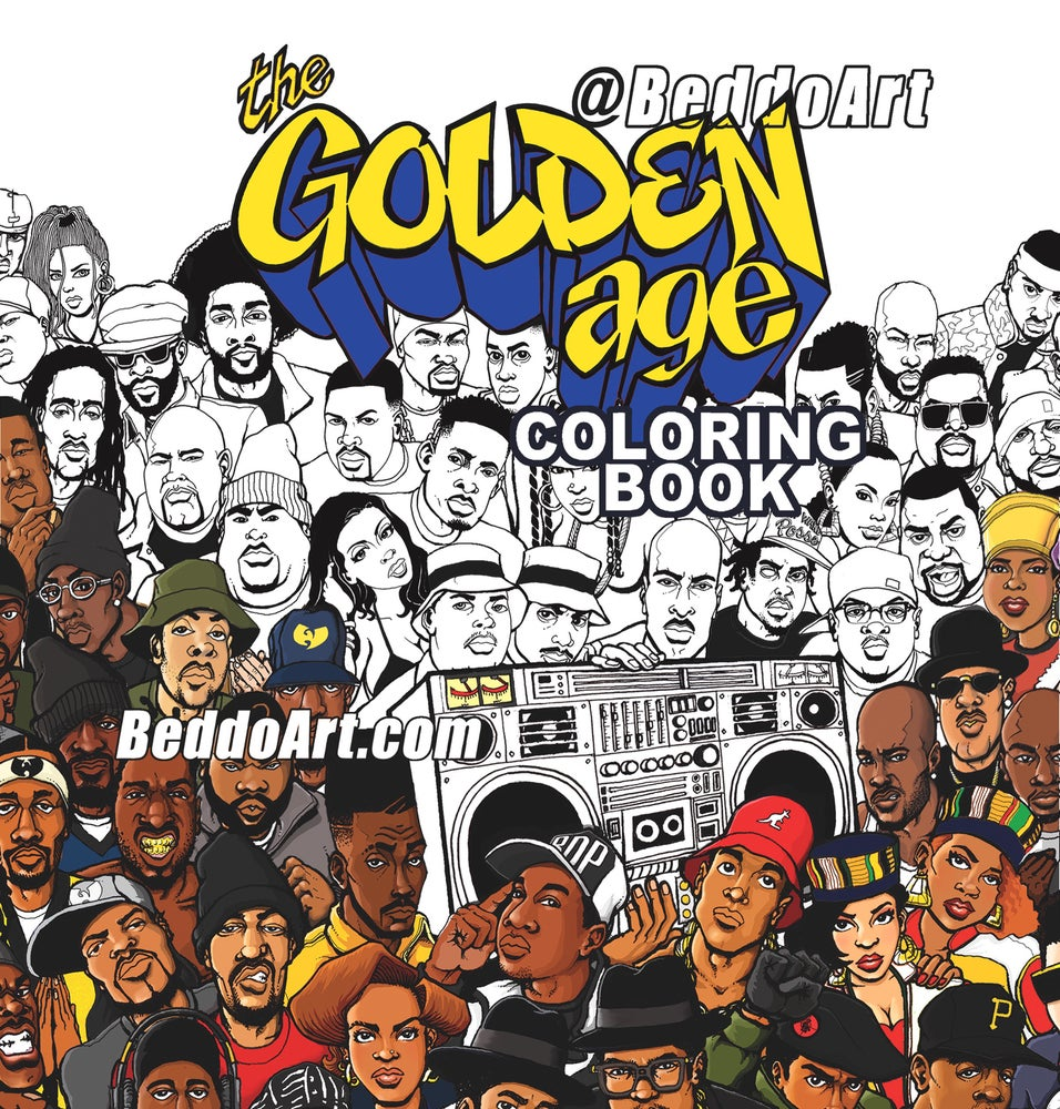 Image of The Golden Age Coloring Book; featuring the Artwork of Beddo