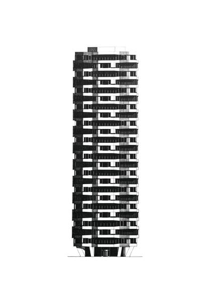Image of Former NLA Building (One Croydon) Croydon