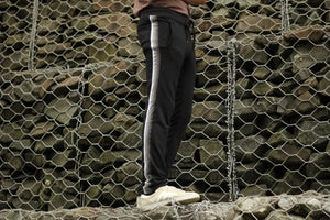 Image of Gradient Side Stripe Pants Preorder