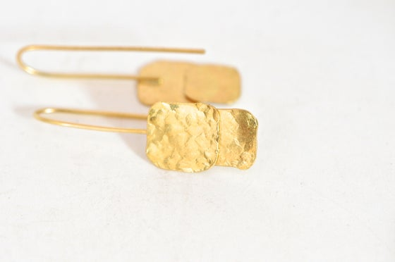 Image of Anita gold earrings