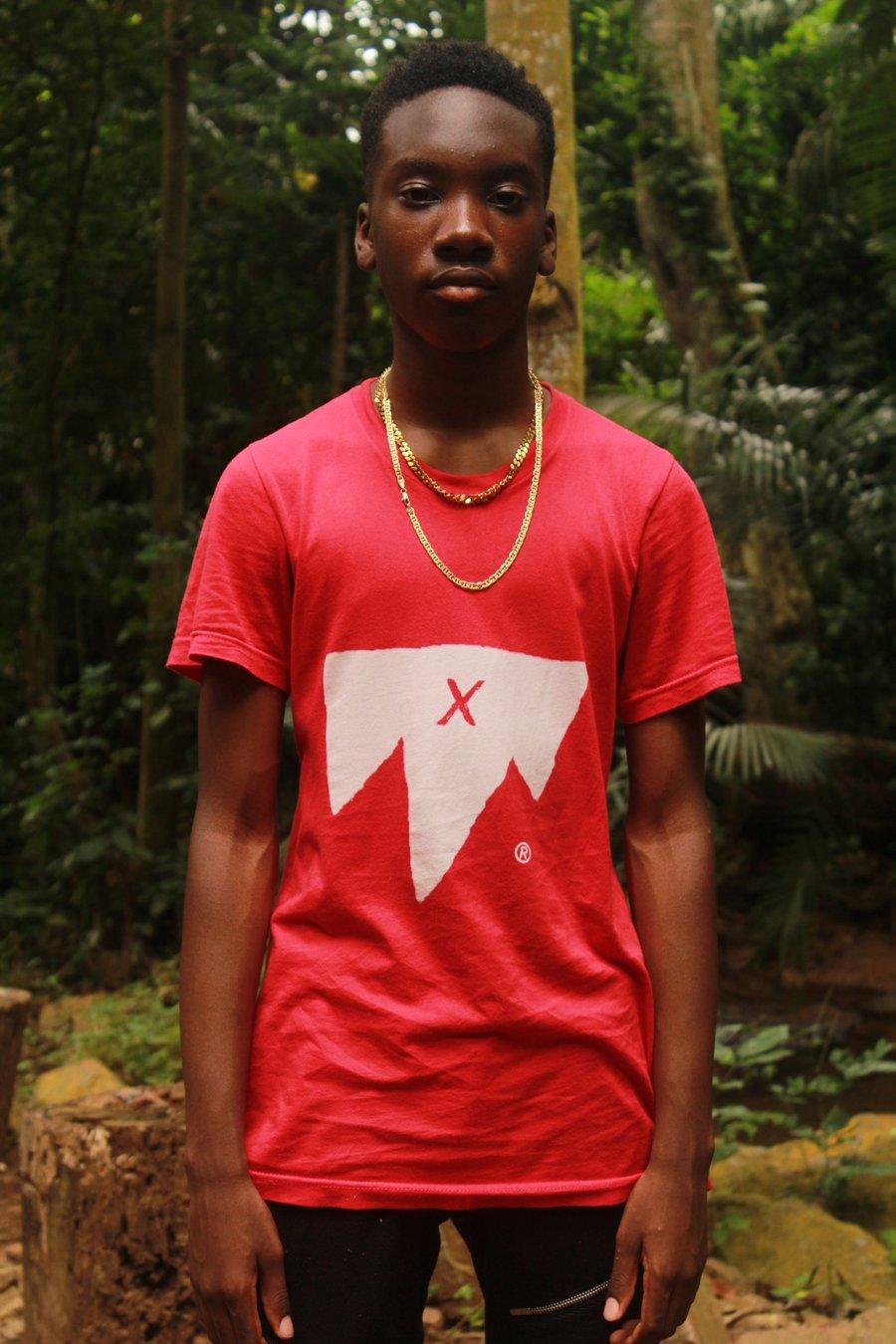 Image of X Logo Tee (Red)