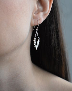 """Image of Small """"Fragment"""" Arch Earrings"""