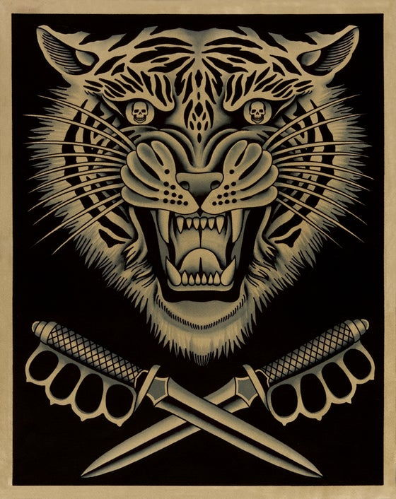 Image of Tiger and Trench Knives