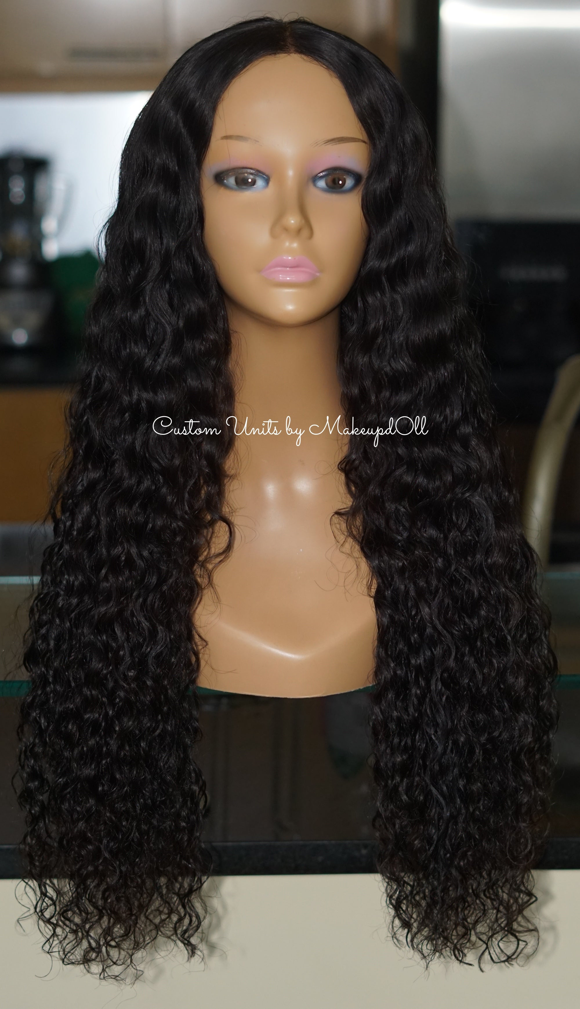 "Image of Cambodian Natural Wave 24"" Lace Closure Wig! (EXTRA DENSE)"