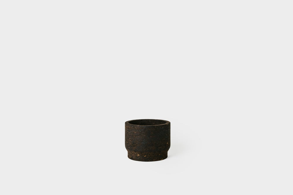 "Image of Charcoal 5"" Cork Planter"