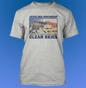 "Image of Javelina Roundup T-Shirt - ""Clear Skies"""