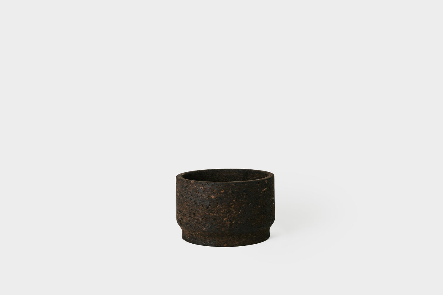 "Image of Charcoal 7.5"" Cork Planter"