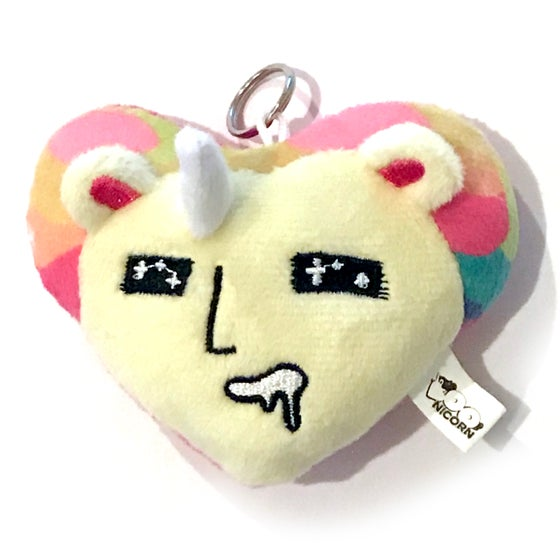 Image of NEW! Boonicorn Mini Plushie Keychain