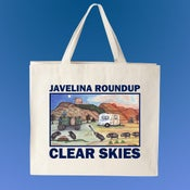 "Image of Javelina Roundup Tote Bag - ""Clear Skies"""