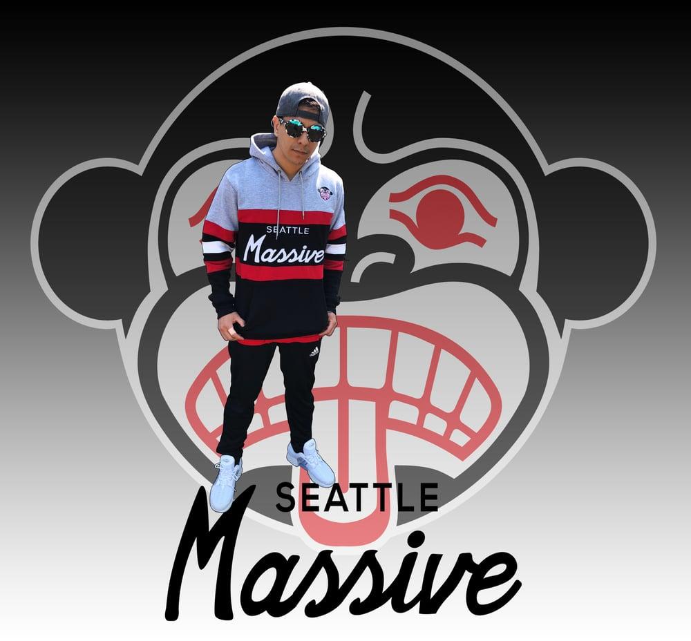 """Image of """"Seattle Massive"""" Script Hoodie"""