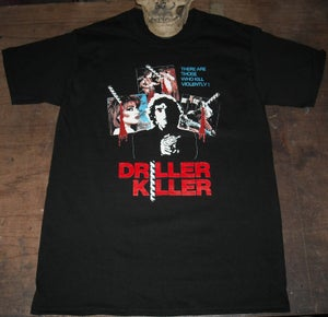 Image of DRILLER KILLER (1979) Tshirt
