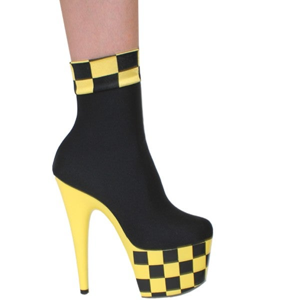Image of Checker Ankle Platforms