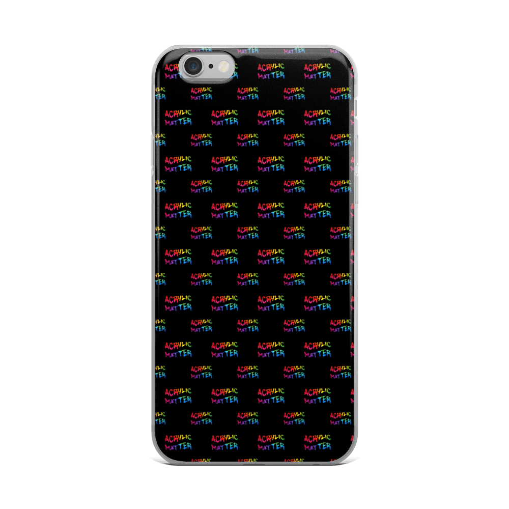 Image of ALL OVER LOGO iPHONE CASE
