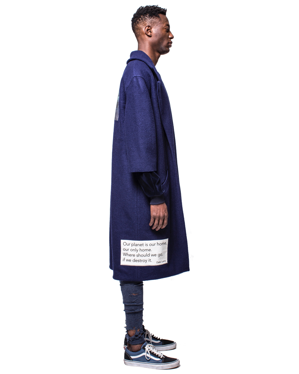 Image of PLASTIC OCEAN COAT