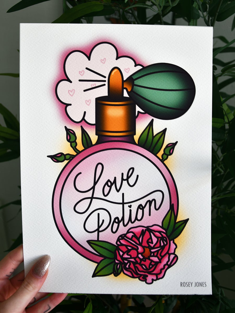 Image of Print Love Potion