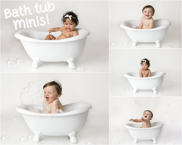 Image of Bath Splash Mini Session