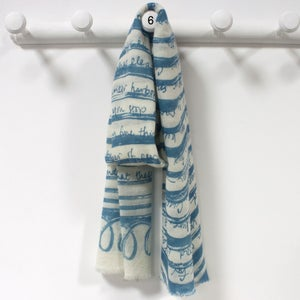 Image of Ithaka Scarf (Blues)