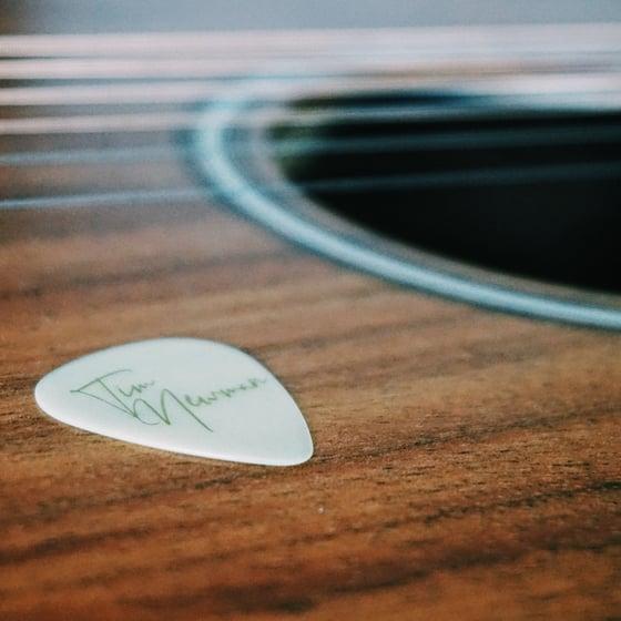 Image of Tim Newman SIGNATURE Guitar Pick / Plectrum