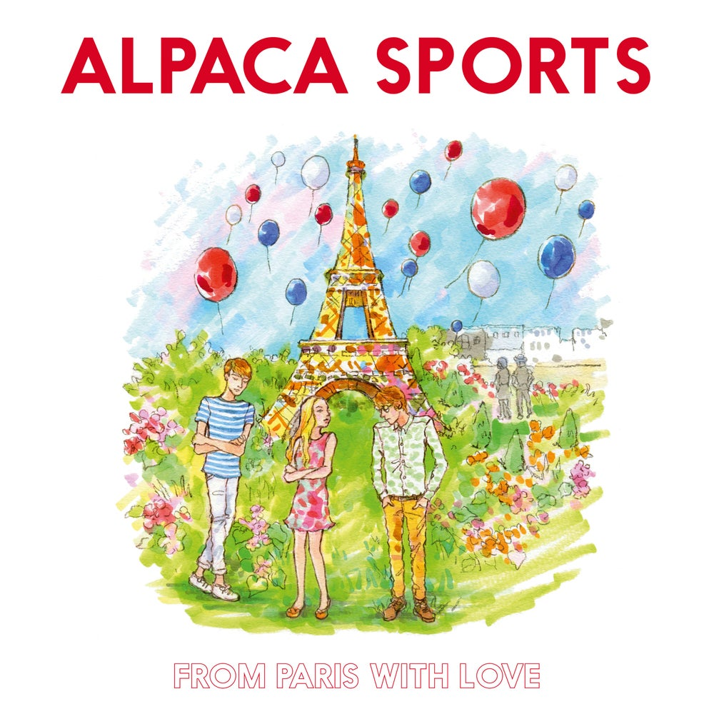 "Image of ALPACA SPORTS - From Paris With Love (White 12"" LP with MP3s or CD Digipak)"