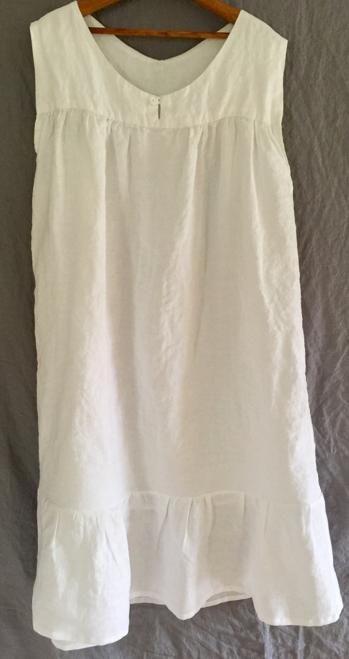 Image of linen gown
