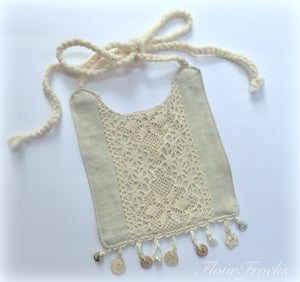 Image of Boho Button Bib