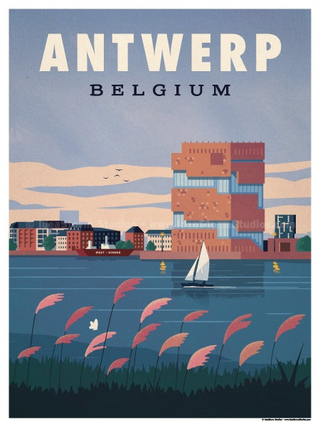 Image of Antwerp Poster