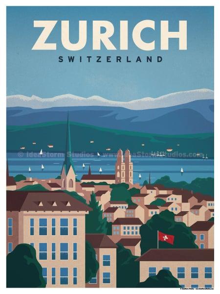Image of Zurich Poster