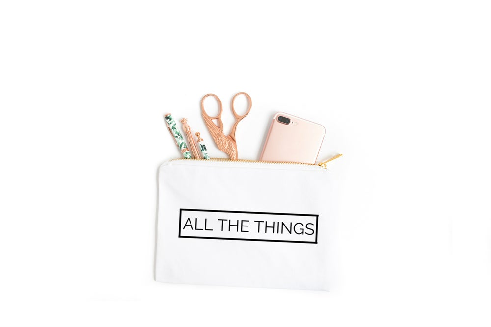 Image of ALL THE THINGS | COSMETIC BAG