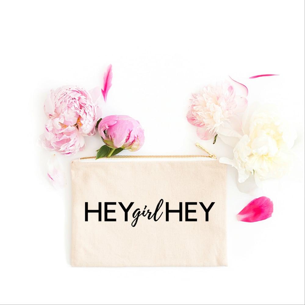 Image of HEY GIRL HEY | COSMETIC BAG