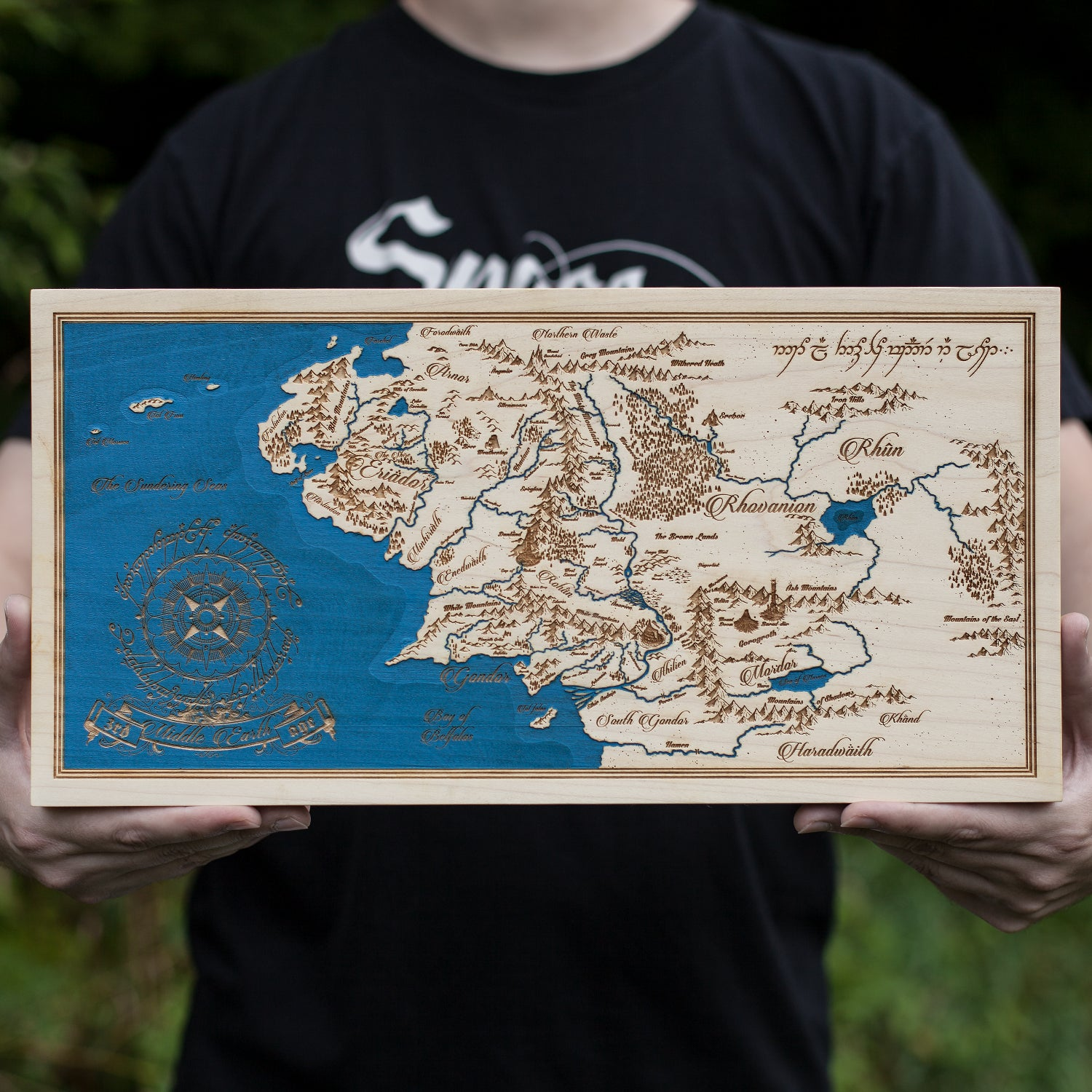 Image of Map of Middle Earth