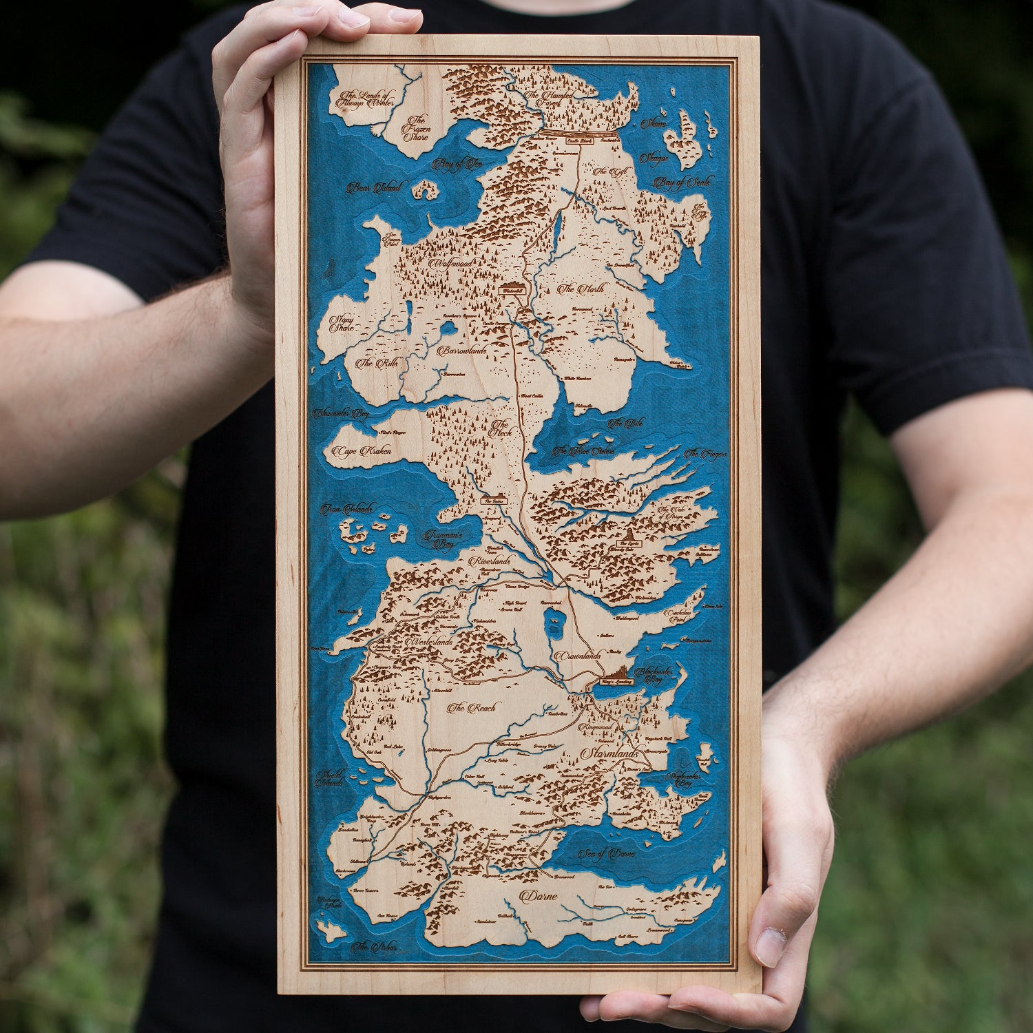 Image of Map of Westeros