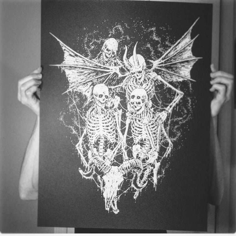 Image of Take Hold Print