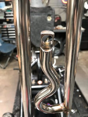 Image of Stainless sissy bar