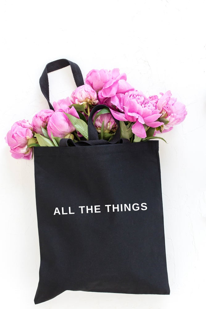 Image of ALL THE THINGS | TOTE BAG