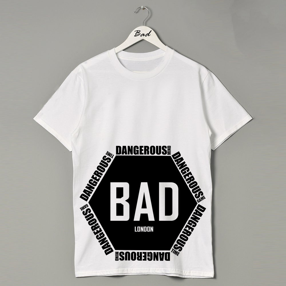Image of BAD MAN LONDON Dangerous Contender Premium Street wear Couture and fitness fashion