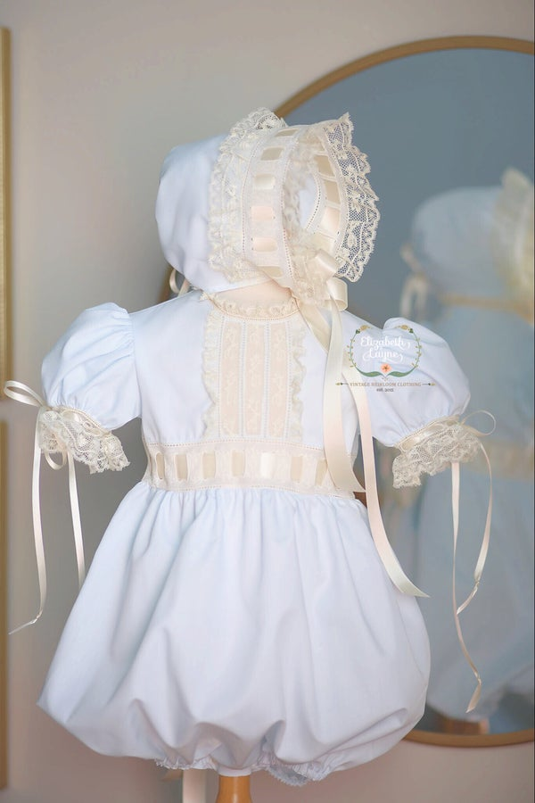 Image of The Gwendolyn Heirloom Dress & Bubble